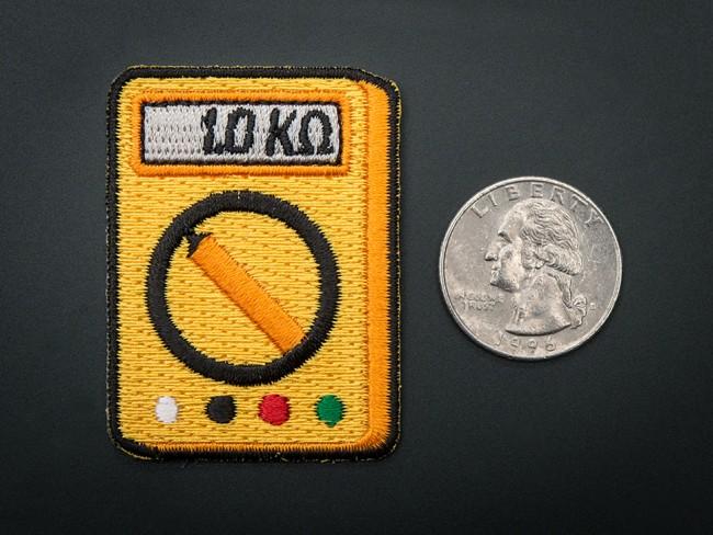 Multi-Meter! - Skill badge, iron-on patch ADA502 Adafruit Australia (Feature image)