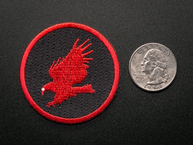 CadSoft EAGLE - Skill badge, iron-on patch ADA566 Adafruit in Australia - Express Delivery Australia Wide (Feature image)