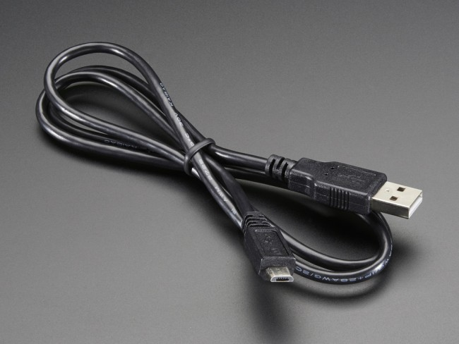 USB cable - A/MicroB - 3ft ADA592 Adafruit in Australia - Express Delivery Australia Wide (Feature image)