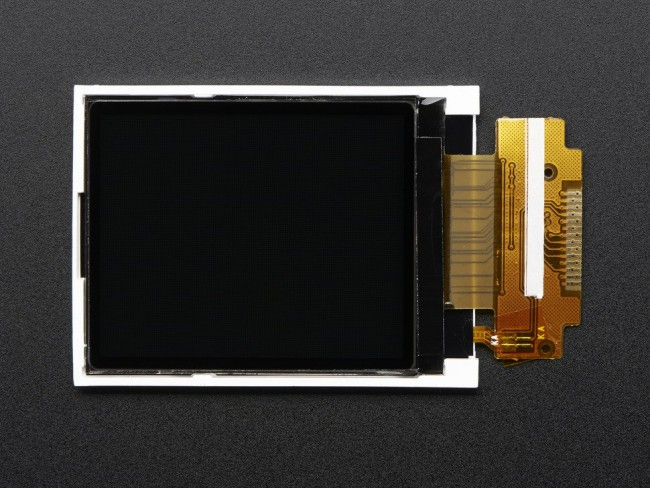 1.8 SPI TFT display, 160x128 18-bit color - ST7735R driver ADA618 Adafruit in Australia - Express Delivery Australia Wide (Image 1)