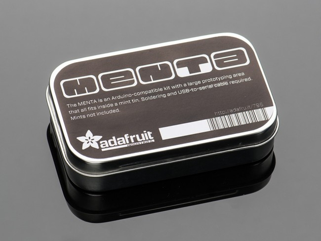 Adafruit MENTA - Mint Tin Arduino Compatible Kit with Mint Tin ADA795 Adafruit in Australia - Express Delivery Australia Wide (Image 4)