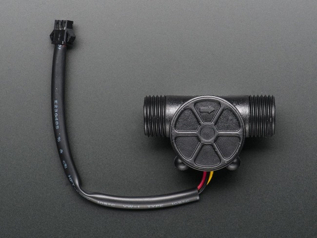 Liquid Flow Meter - Plastic 1/2 NPS Threaded ADA828 Adafruit in Australia - Express Delivery Australia Wide (Feature image)