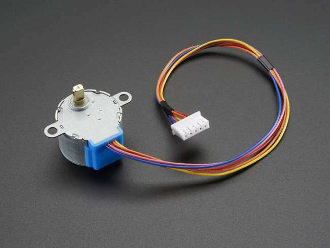 Small Reduction Stepper Motor - 5VDC 32-Step 1/16 Gearing ADA858 Adafruit in Australia - Express Delivery Australia Wide (Feature image)