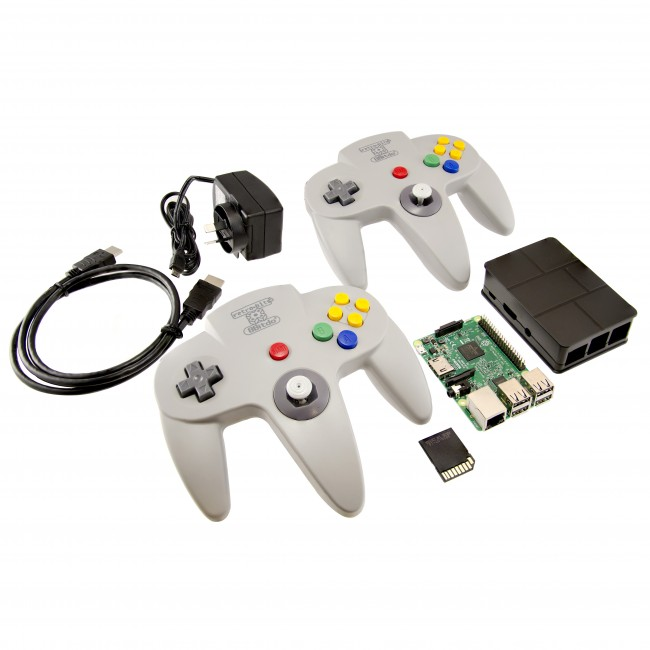 Retro Game Console (with N64 Wireless Controllers!) CE04649 RetroPie Australia (Image 1)