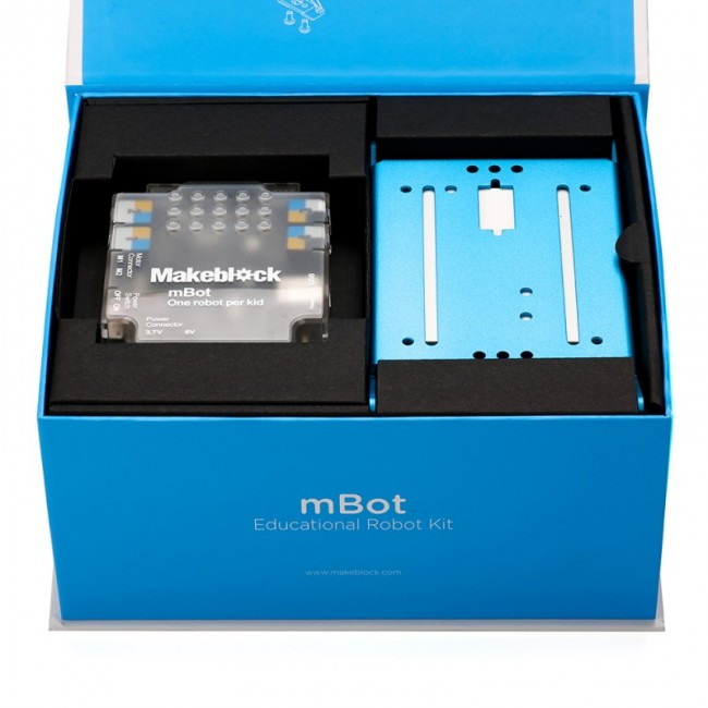 Makeblock mBot v 1.1 - Blue (Bluetooth Version) MB90053 Makeblock in Australia - Express Delivery Australia Wide (Image 8)