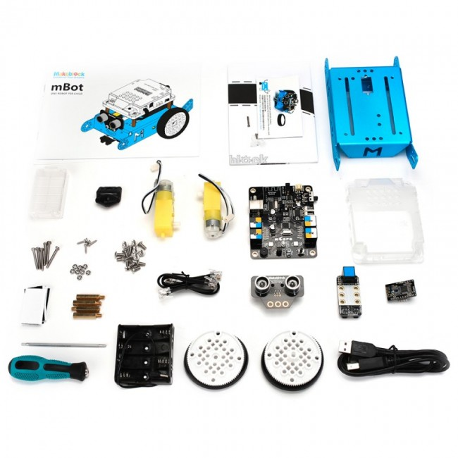 Makeblock mBot v 1.1 - Blue (Bluetooth Version) MB90053 Makeblock in Australia - Express Delivery Australia Wide (Image 7)