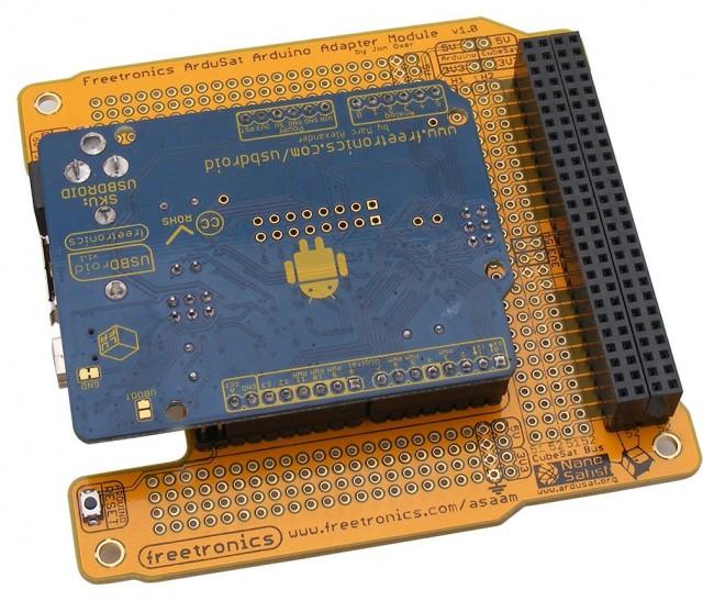 Freetronics ArduSat Arduino Adapter Module CE04560 Freetronics Australia (Image 2)