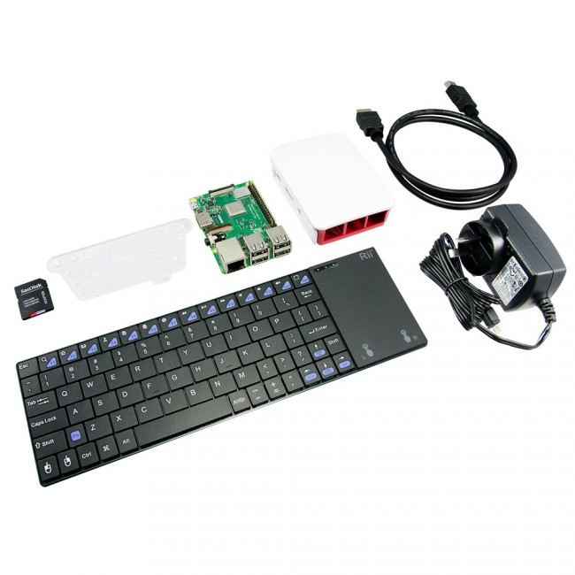 Raspberry Pi 3 B+ Media Center Kit - Ultimate CE05962 Raspberry Pi Australia (Feature image)