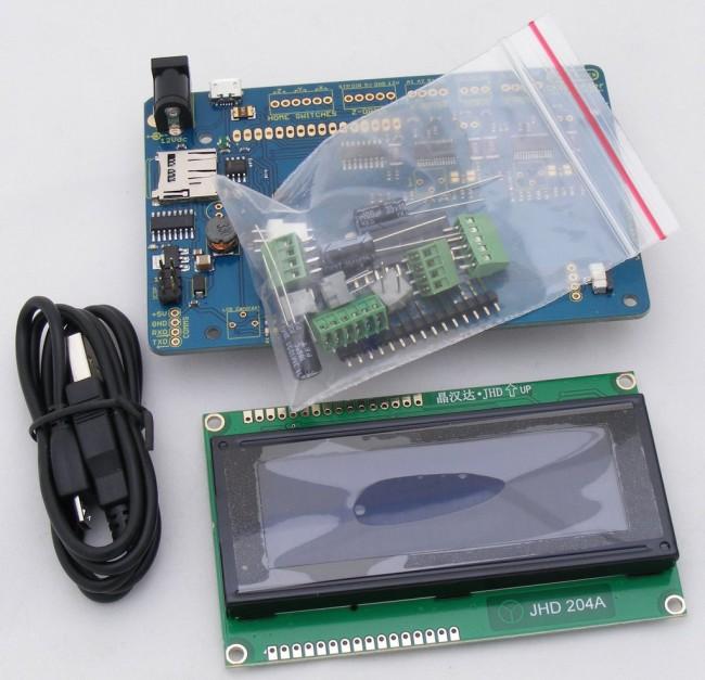 Freetronics CNCPlotter Stepper Motor Controller CE04554 Freetronics Australia (Image 2)
