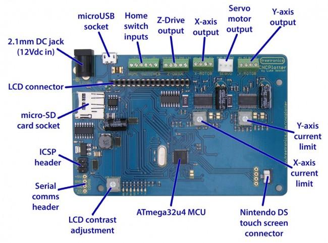 Freetronics CNCPlotter Stepper Motor Controller CE04554 Freetronics Australia (Image 3)