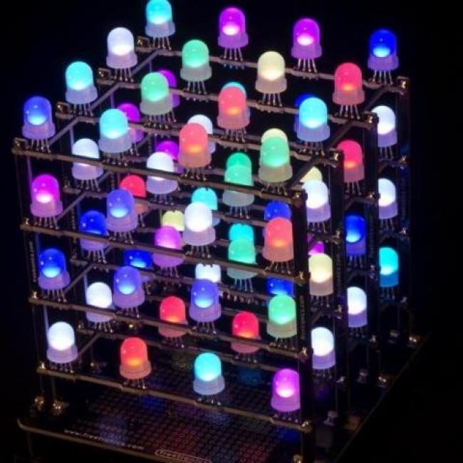 Freetronics 4x4x4 RGB LED Cube CE04558 Freetronics Australia (Image 6)