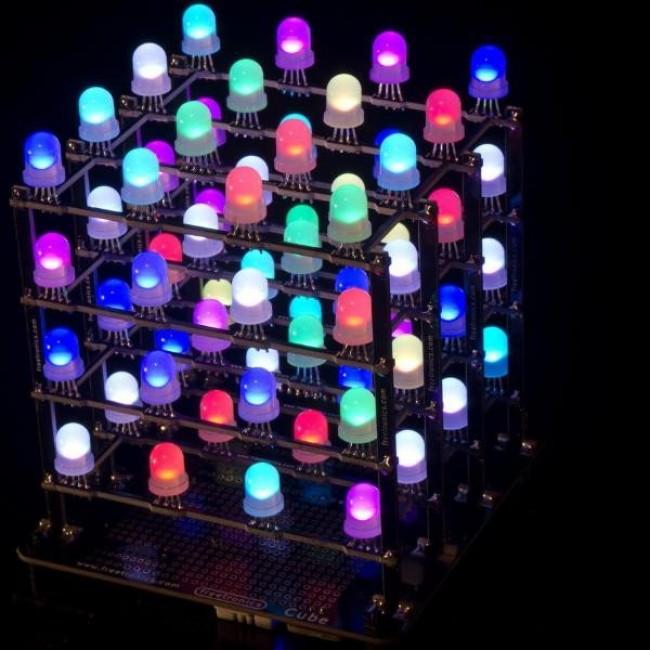 Freetronics 4x4x4 RGB LED Cube CE04558 Freetronics Australia (Image 7)