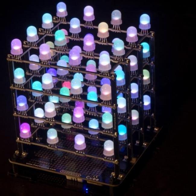 Freetronics 4x4x4 RGB LED Cube CE04558 Freetronics Australia (Image 8)