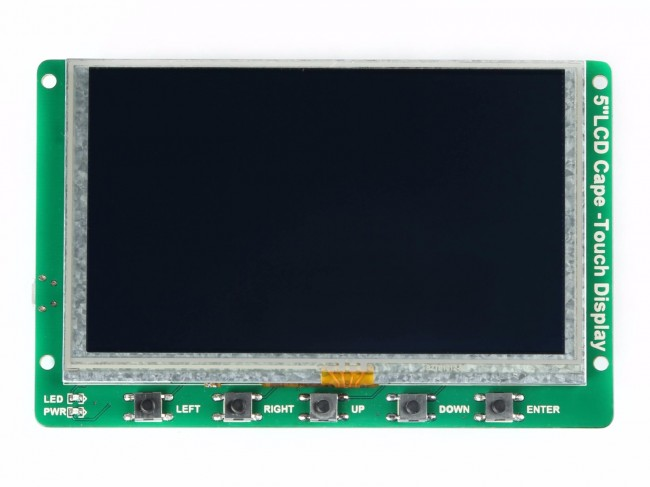 5 Inch BeagleBone Green LCD Cape with Resistive Touch (Seeed Studio)  SS104990262 Seeed Studio Australia (Feature image)