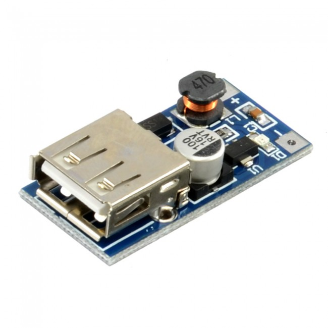DC-DC USB 0.9V-5V to 5V dc Boost Step-up Power Supply Module CE05174  (Image 2)