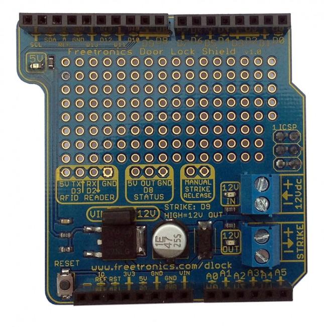 Freetronics RFID Door Lock Shield CE04568 Freetronics Australia (Image 2)