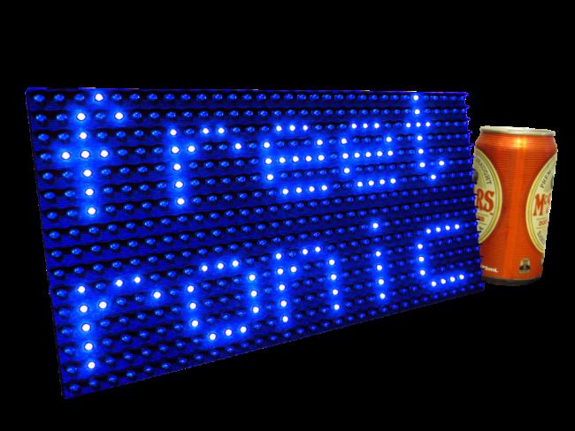 Freetronics DMD: Dot Matrix Display 32x16 Blue CE04541 Freetronics Australia (Feature image)