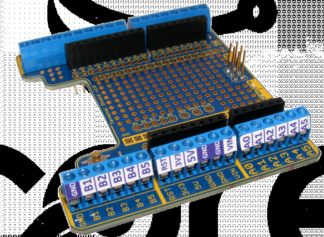 Freetronics Terminal Shield for Arduino CE04491 Freetronics Australia (Feature image)