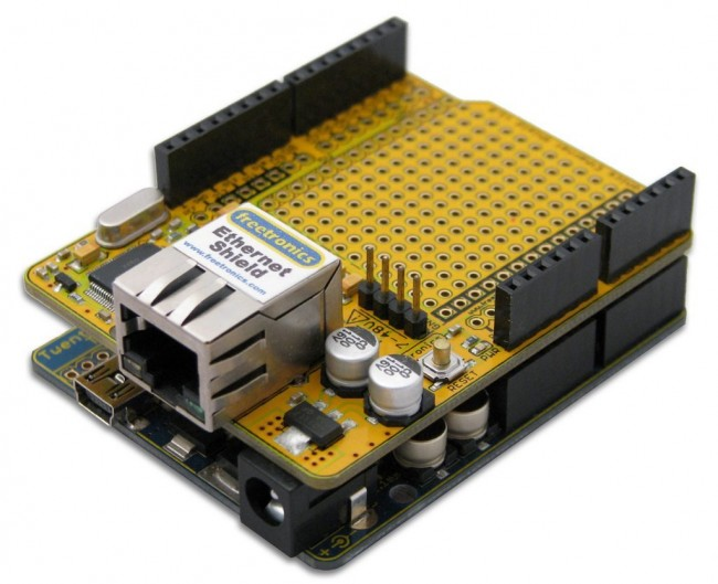 Freetronics Ethernet Shield With PoE CE04492 Freetronics Australia (Image 2)