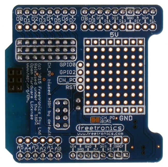 Freetronics ESP-01 WiFi Module Shield CE04516 Freetronics Australia (Image 3)