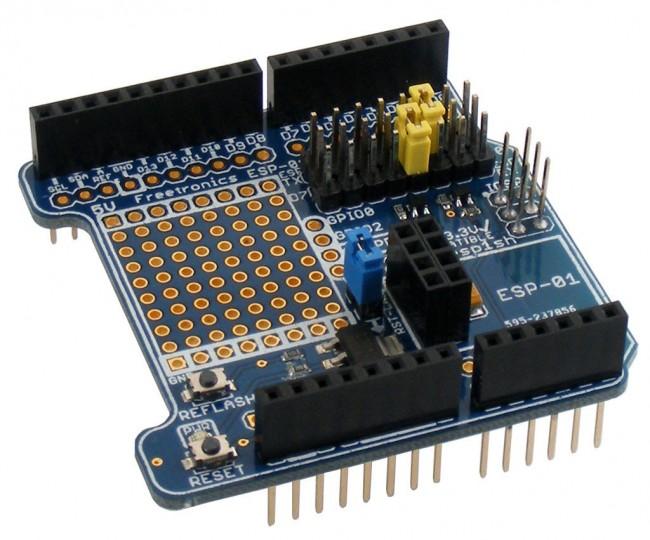Freetronics ESP-01 WiFi Module Shield CE04516 Freetronics Australia (Feature image)
