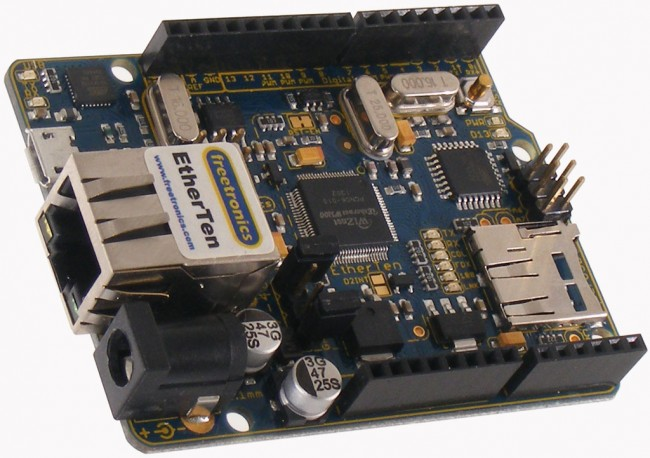 Freetronics EtherTen (100% Arduino compatible with onboard Ethernet) CE04487 Freetronics Australia (Image 3)