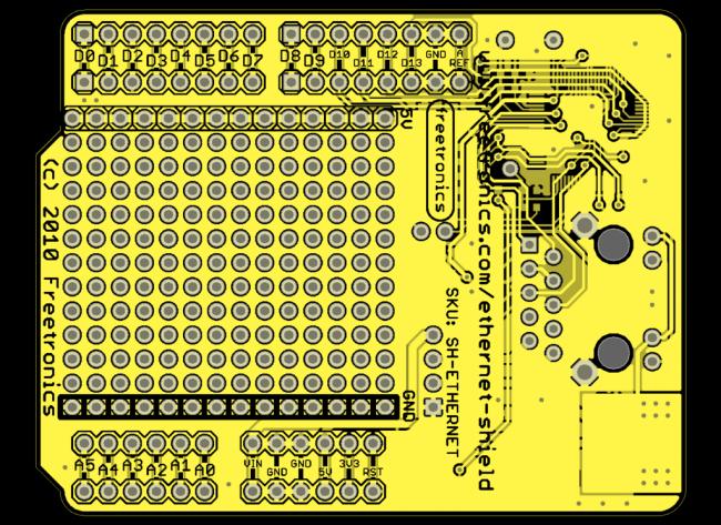 Freetronics Ethernet Shield With PoE CE04492 Freetronics Australia (Image 6)
