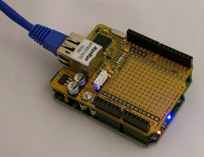 Freetronics Ethernet Shield With PoE CE04492 Freetronics Australia (Image 3)