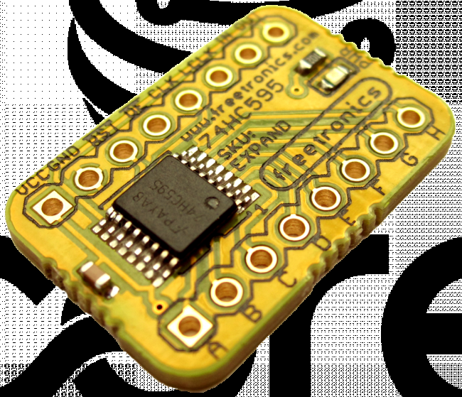 Freetronics Expansion / Shift Register Module CE04537 Freetronics Australia (Feature image)