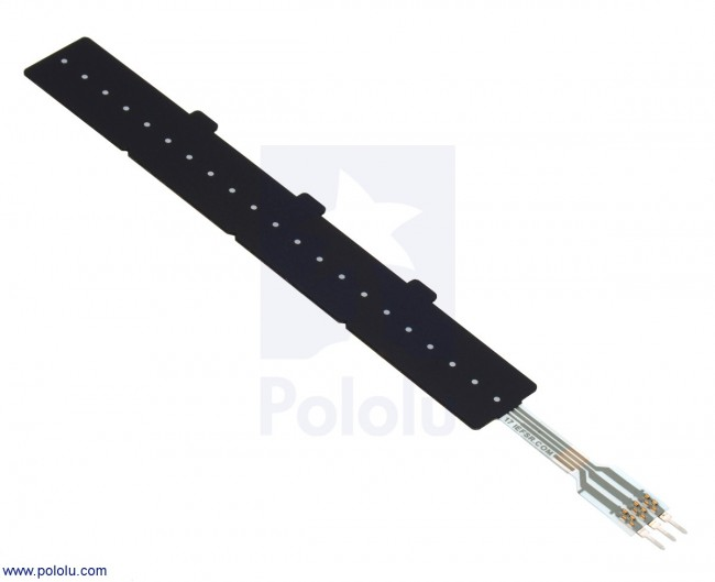 Force-Sensing Linear Potentiometer: 4.0″×0.4″ Strip, Customizable Length POLOLU-2730 Pololu Australia - Express Delivery Australia Wide (Image 1)
