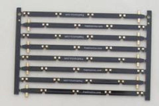 Vertical stick PCB pack for Freetronics 4x4x4 RGB LED Cube CE04521 Freetronics Australia (Image 1)