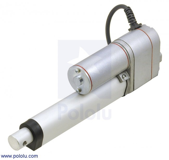 "Generic Linear Actuator with Feedback: 4"" Stroke, 12V, 0.6""/s POLOLU-2333 Pololu Australia - Express Delivery Australia Wide (Feature image)"