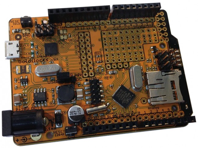 Freetronics Goldilocks: Arduino Compatible with ATmega1284P MCU CE04565 Freetronics Australia (Feature image)