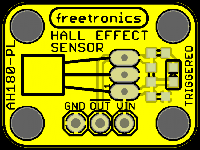 Freetronics Hall Effect Magnetic and Proximity Sensor Module CE04534 Freetronics Australia (Image 4)