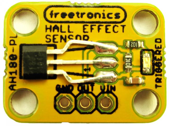 Freetronics Hall Effect Magnetic and Proximity Sensor Module CE04534 Freetronics Australia (Image 2)