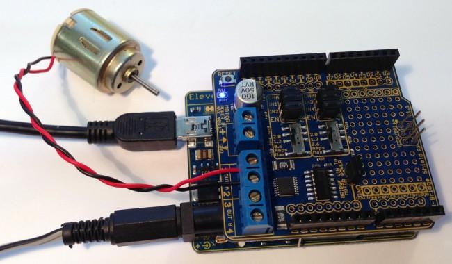 Freetronics HBRIDGE Dual Channel H-Bridge Motor Driver Shield CE04566 Freetronics Australia (Image 4)