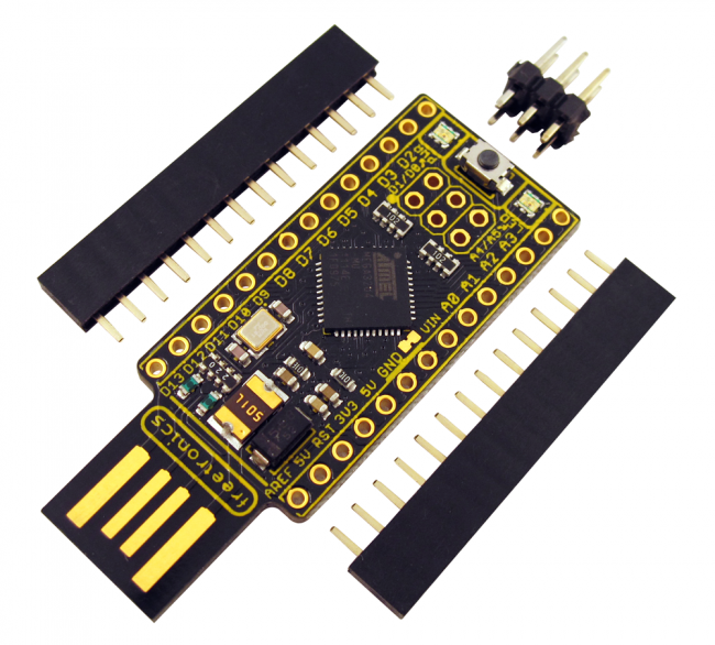 Freetronics LeoStick (Arduino Compatible) CE04489 Freetronics Australia (Image 3)