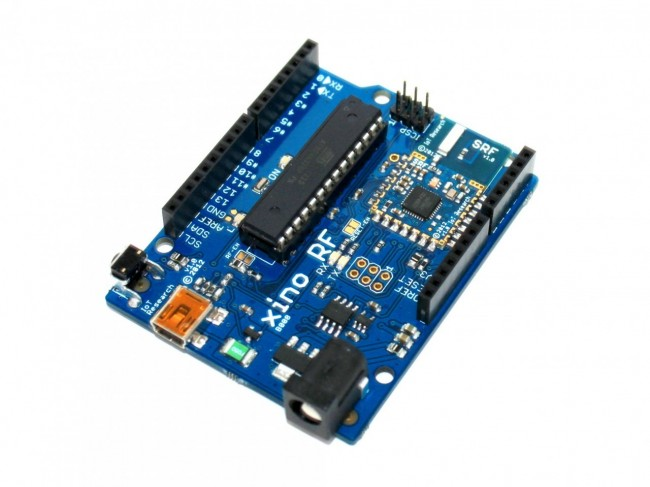 XinoRF - 100% Arduino UNO R3 Based Dev Board With Radio Transceiver 005-B008 Ciseco Australia (Feature image)