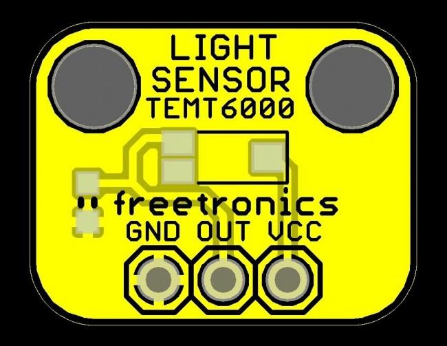 Freetronics Light Sensor Module CE04535 Freetronics Australia (Image 2)