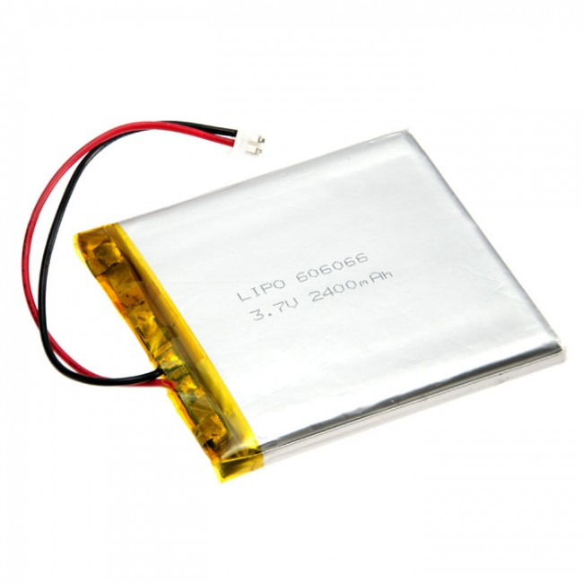 Polymer Lithium Ion Battery (LiPo) 3.7V 2400mAh CE04379 Core Electronics Products - In Stock - In Australia (Feature image)