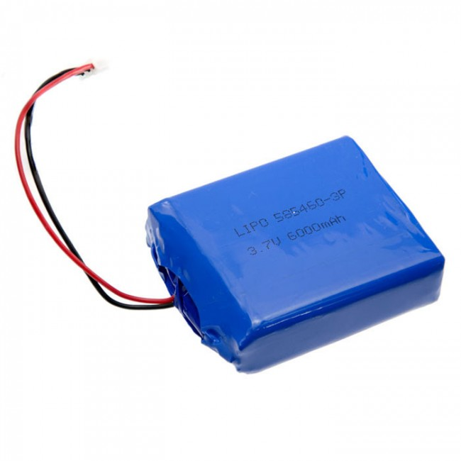 Polymer Lithium Ion Battery (LiPo) 3.7V 6000mAh CE04381 Core Electronics Australia (Feature image)
