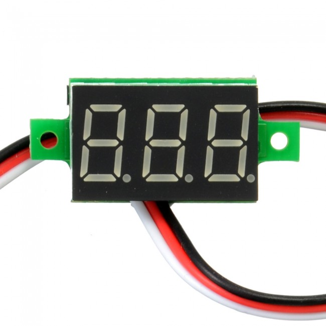 Mini Digital Display DC Voltmeter 0-100V Blue 018-05-VM-100V-BL-MINI  (Feature image)