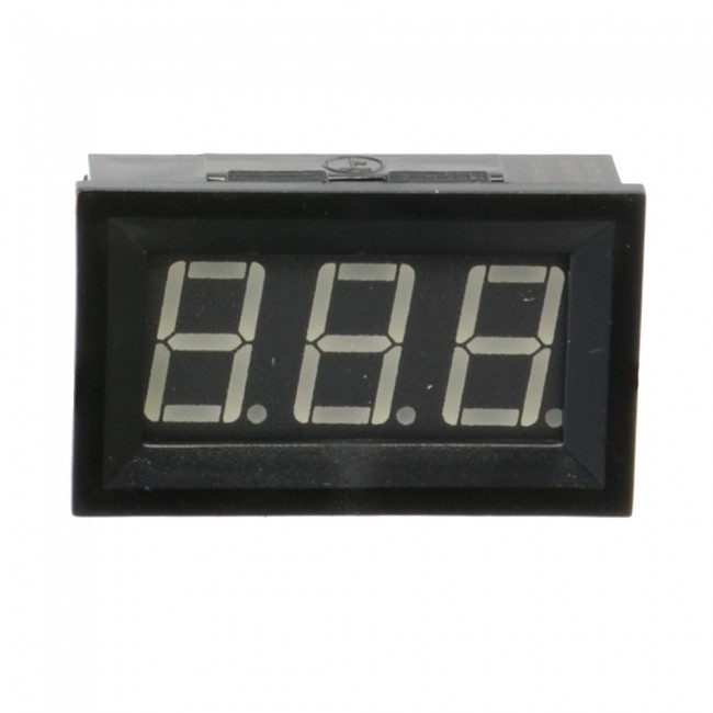 Digital Display DC Voltmeter 3-30V Blue 018-05-VM-30V-BL  (Feature image)