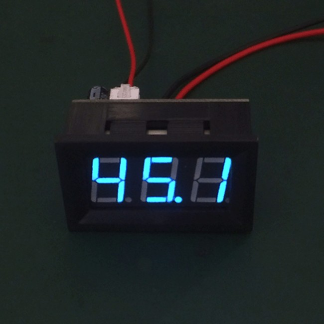 Digital Display Ammeter DC 0-100A Blue 018-05-AM-100A-BL  (Image 2)