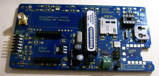 Freetronics MobSenDat Kit (Mobile Sensor Datalogger) CE04503 Freetronics Australia (Image 4)