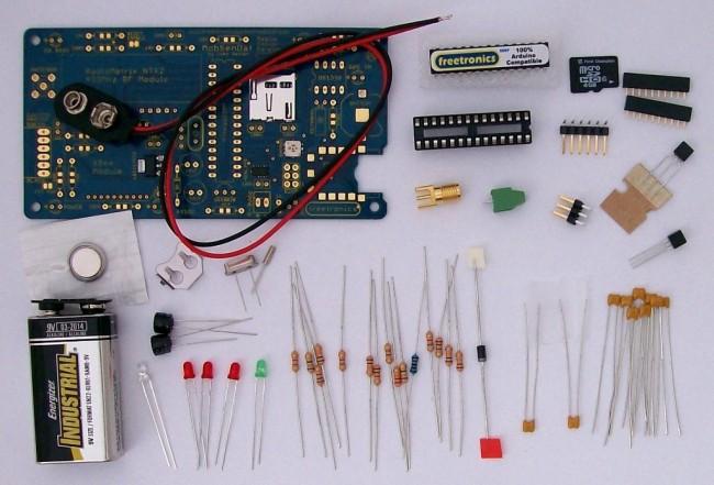 Freetronics MobSenDat Kit (Mobile Sensor Datalogger) CE04503 Freetronics Australia (Feature image)