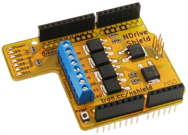 Freetronics N-Drive Shield CE04519 Freetronics Australia (Feature image)