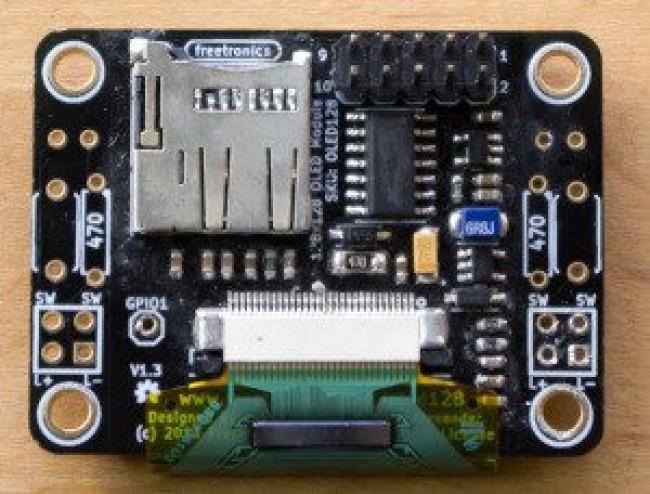 Freetronics 128x128 Pixel OLED Module CE04569 Freetronics Australia (Image 3)