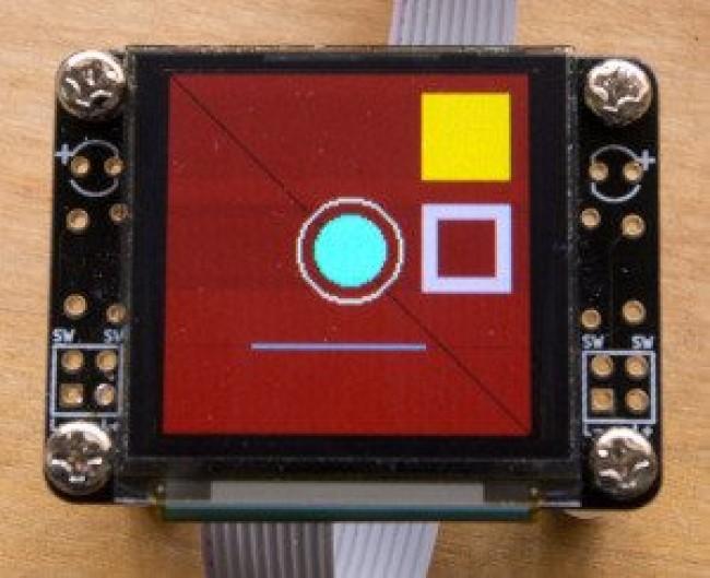 Freetronics 128x128 Pixel OLED Module CE04569 Freetronics Australia (Image 4)