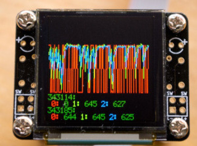 Freetronics 128x128 Pixel OLED Module CE04569 Freetronics Australia (Image 5)